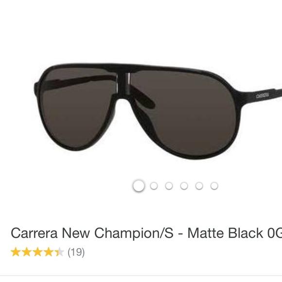 fc13c6a502a Carrera Other - Carrera New Champion matte black men s sunglasses